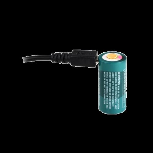 Olight-RCR123-Litium-ion-akkumulator-3,7V-650mAh