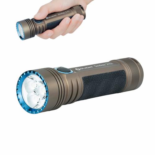 Olight Seeker 2 Pro TAN tölthető zseblámpa - barna színben